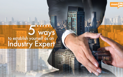 5 Ways to Establish Yourself as an Industry Expert